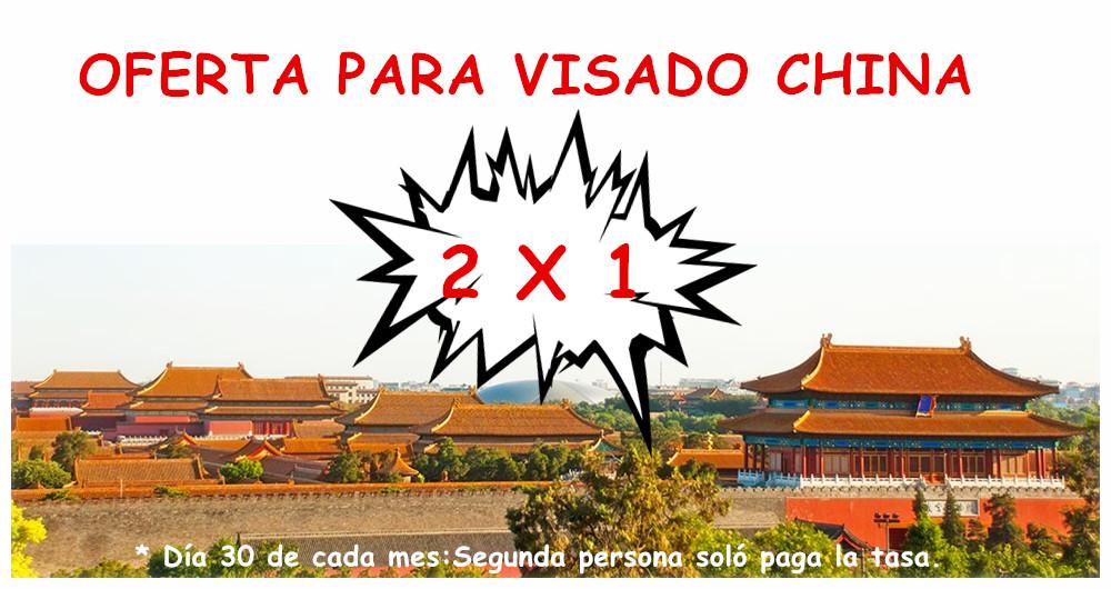 Visados – Visados a China